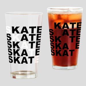 skate stack Drinking Glass