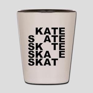 skate stack Shot Glass