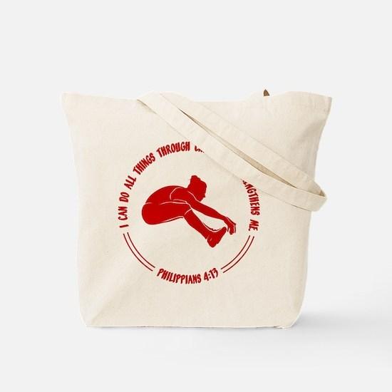 LONG JUMP (both sides) Tote Bag