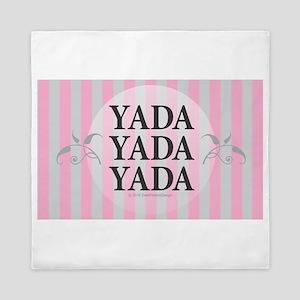 Yada Yada Yada Queen Duvet