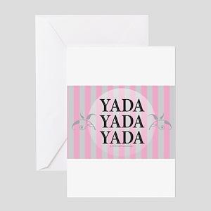 Yada Yada Yada Greeting Cards