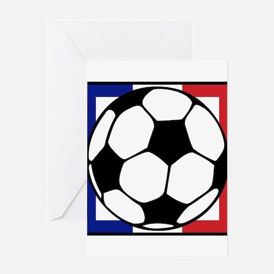 futbol francaise Greeting Cards