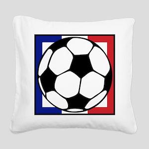 futbol francaise Square Canvas Pillow