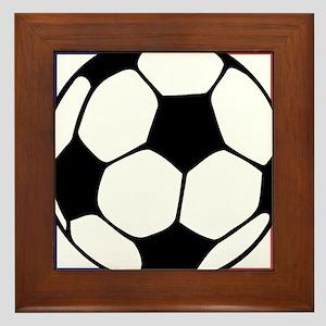 futbol francaise Framed Tile