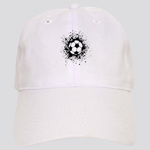 soccer splats Baseball Cap