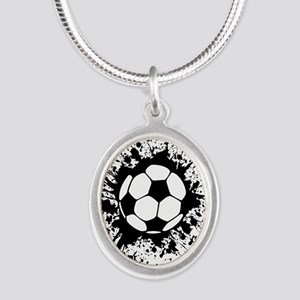soccer splats Necklaces