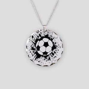 soccer splats Necklace