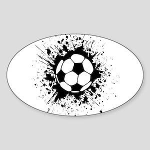 soccer splats Sticker