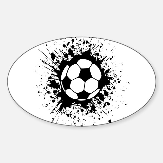 soccer splats Decal