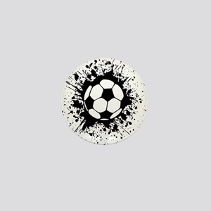 soccer splats Mini Button