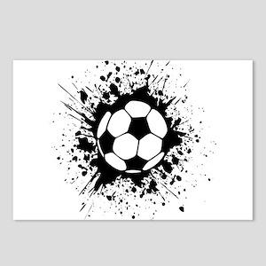 soccer splats Postcards (Package of 8)