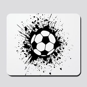 soccer splats Mousepad