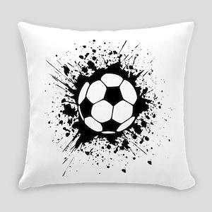 soccer splats Everyday Pillow