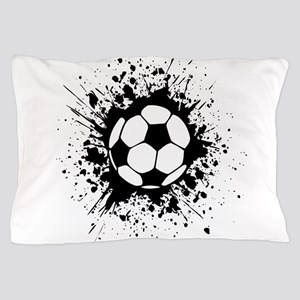 soccer splats Pillow Case