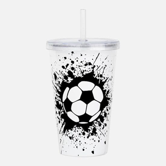 soccer splats Acrylic Double-wall Tumbler