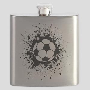 soccer splats Flask