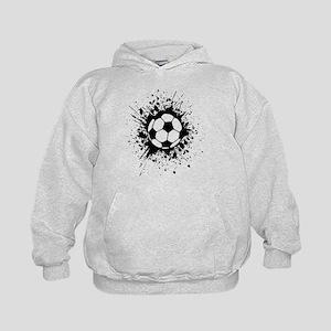 soccer splats Hoodie