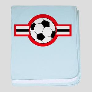 soccer airstar baby blanket