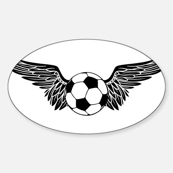 Flying Soccer Ball Car Accessories   Auto Stickers, License Plates ...