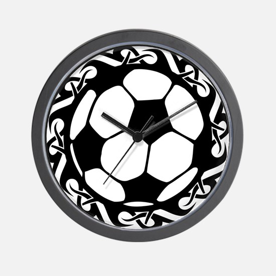tribal futbol Wall Clock