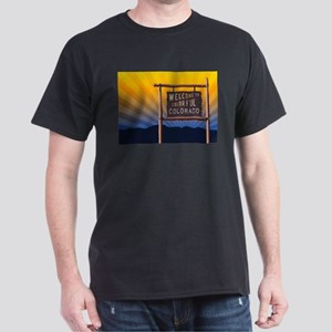 welcome to colorful colorado sign T-Shirt