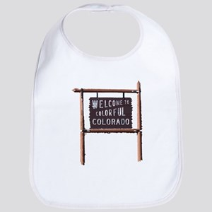 welcome to colorful colorado signage Bib