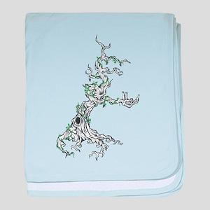 303 tree baby blanket