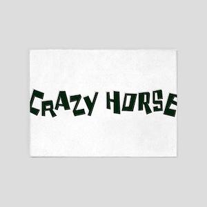 crazy horse 5'x7'Area Rug