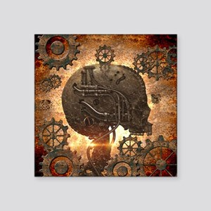 Awesome steampunk Skull with gears Sticker