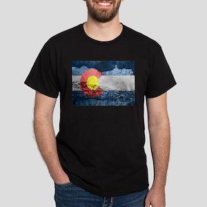 colorado concrete wall flag T-Shirt