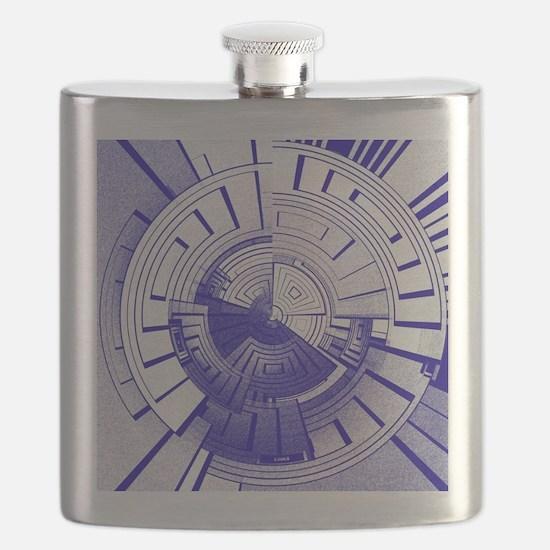Funny Futuristic Flask