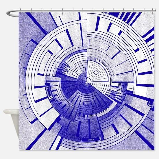 Funny Futuristic Shower Curtain