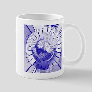 Futuristic abstract Mugs