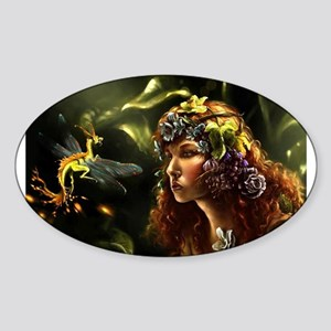 Dragon Fly, Fairy Sticker