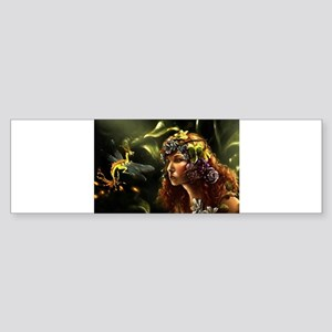Dragon Fly, Fairy Bumper Sticker