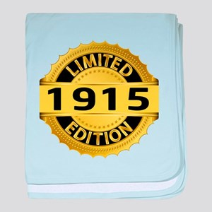 Limited Edition 1915 baby blanket