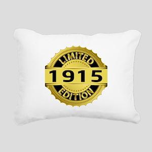 Limited Edition 1915 Rectangular Canvas Pillow