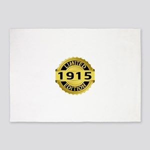 Limited Edition 1915 5'x7'Area Rug