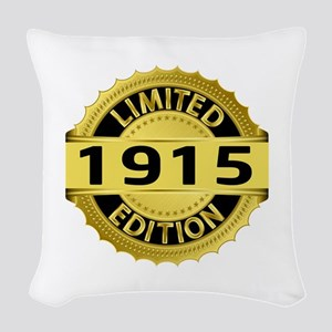 Limited Edition 1915 Woven Throw Pillow
