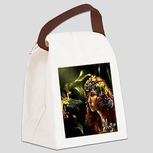 Dragon Fly, Fairy Canvas Lunch Bag