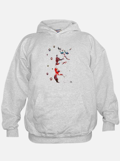 Persian Paw Prints Sweatshirt