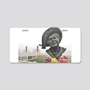 queen mother , Cheltenham r Aluminum License Plate