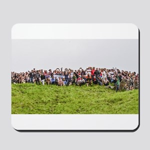 CHASE THE CHEESE, CHEESE ROLLING , COOPE Mousepad