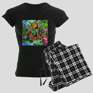 Beautiful Butterflies And Flowers pajamas