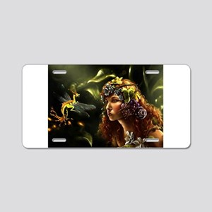 Dragon Fly, Fairy Aluminum License Plate