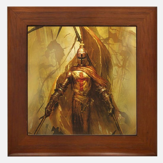 Templar Framed Tile