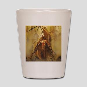 Templar Shot Glass