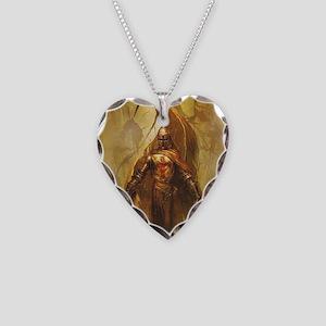 Templar Necklace Heart Charm