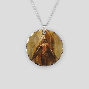 Templar Necklace Circle Charm