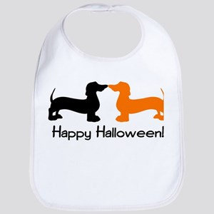 Dachshund Halloween Bib
